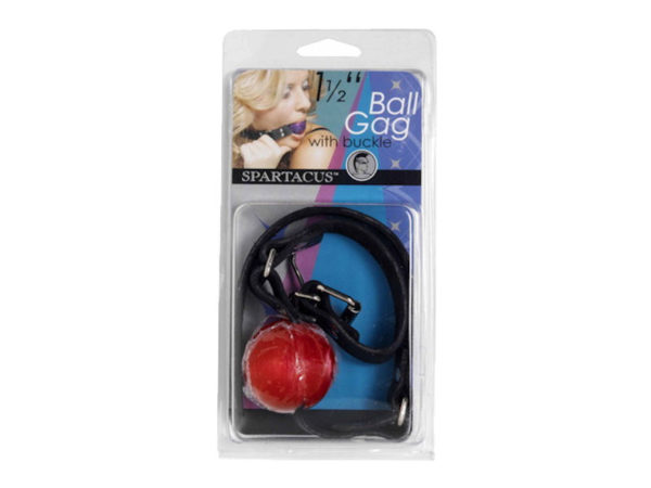 Spartacus 4cm ball gag black 3 adult shop 1