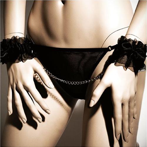 frou frou hand cuffs 3 3