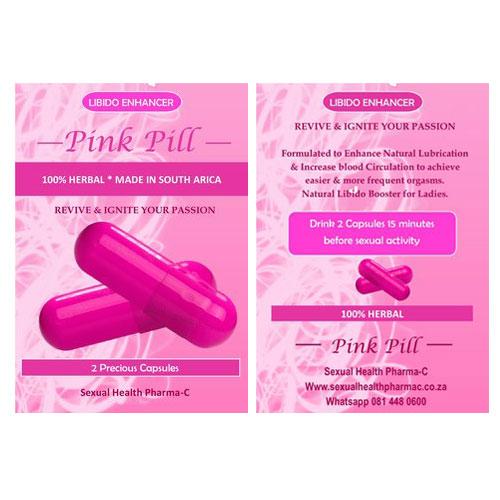pink pill female libido booster 3