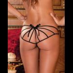 Strappy Open Crotch Panty