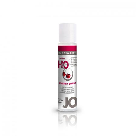 system jo h2o flavoured water based lubricant cherry 30ml 3