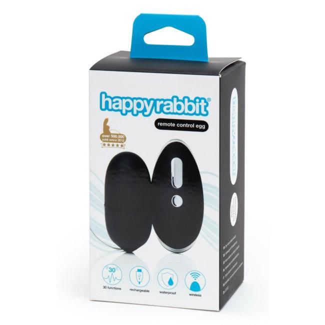 lovehoney hapy rabbit remote control egg vibrator packaging