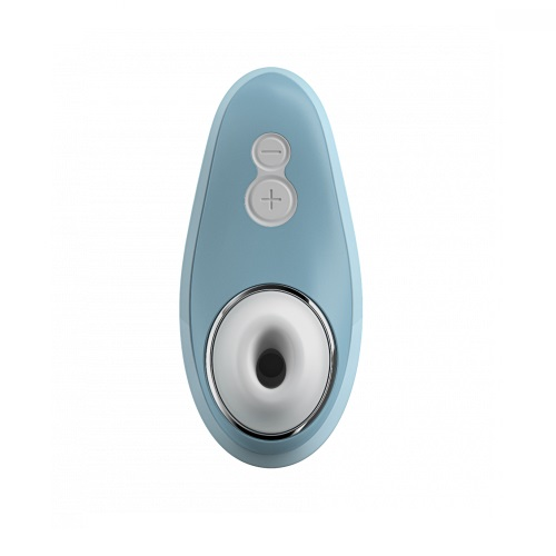 womanizer liberty womens sex toy powder blue
