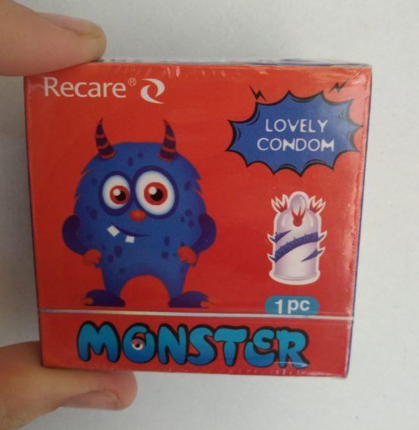 recare monster lovely condom scaled